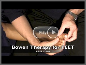Watch a Free Sample Video of Bowen Therapy for Ankle Pain, Hammer Toes, Bunion & Plantar Fasciitis